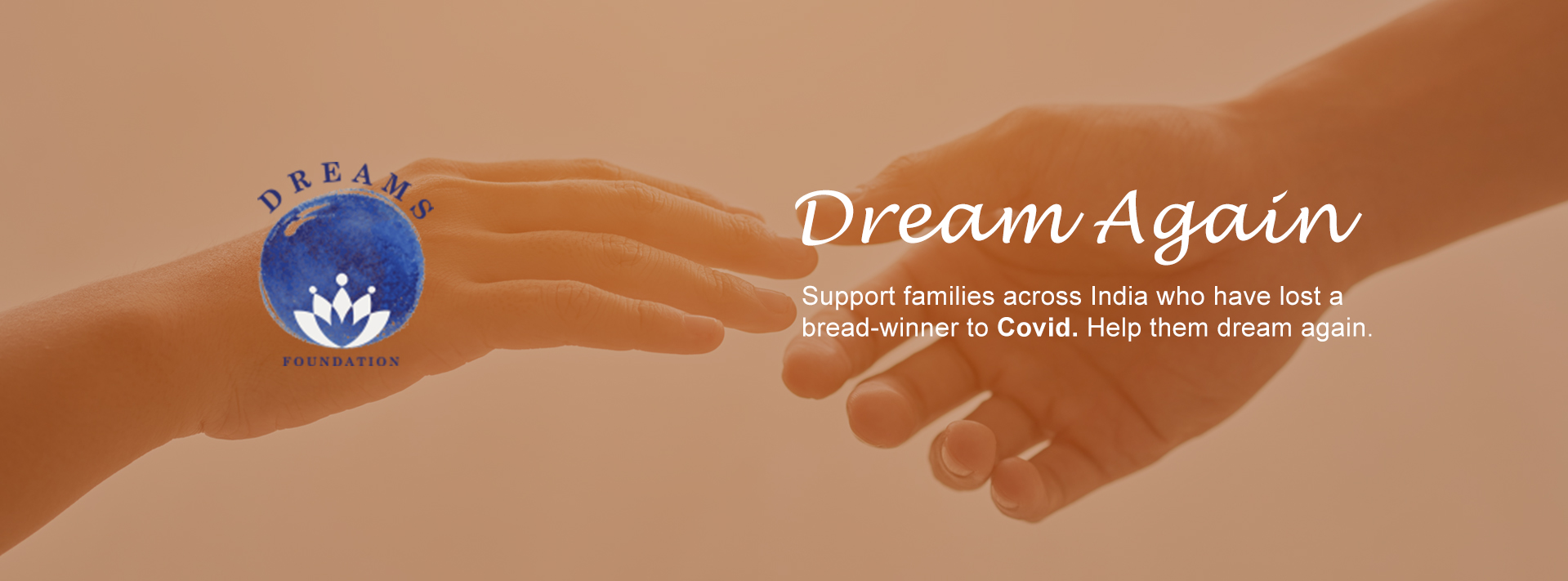 Support families who have lost a breadwinner to COVID. Help them dream again...
